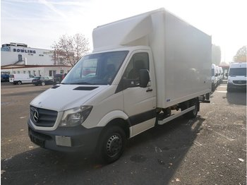 MERCEDES-BENZ Sprinter II Koffer 513 CDI Mit Ladebordwand 5,3 to GG - pikkubussi