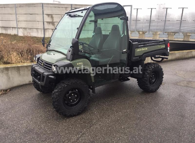 John Deere Gators >> John Deere Gator Xuv 855 Diesel 4x4 Transporter Kunnallis Erikoisajoneuvot 3432194