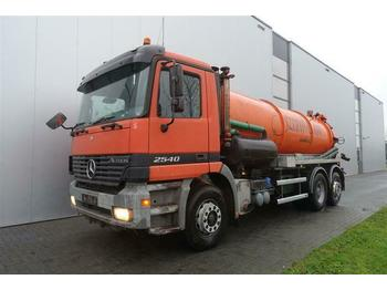 Puhtaanpitoauto Mercedes-Benz ACTROS 2540 6X2 EPS HUB REDUCTION