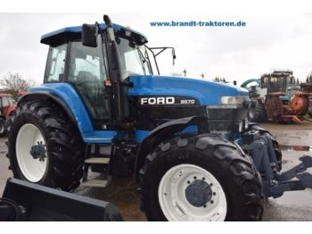 Ford New Holland >> Myytavat Uusien Maataloustraktori Ford New Holland 8670 Ta