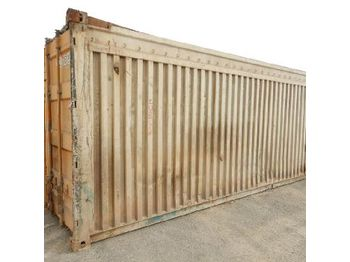 Kontti 20ft Workshop Container c/w Kelly Spare Parts